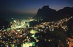 Brazil Rio cityscape Rocinha Favela slums water sewers poverty