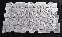 Pinwheel Path folded by Jeffrey Rutsky, New York, USA, pattern by Chris Palmer