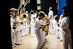 The first Festa da Capoeira 2013 at Melrose Leadership Academy of Oakland occured on Saturday, December 14 2013. Capoeristas received or exchanged new belts and medals.