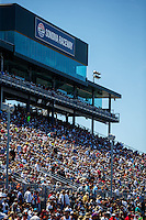 Jul 31, 2016; Sonoma, CA, USA; NHRA fans in the crowd in attendance at the Sonoma Nationals at Sonoma Raceway. The day was announced as a Sellout. Mandatory Credit: Mark J. Rebilas-USA TODAY Sports