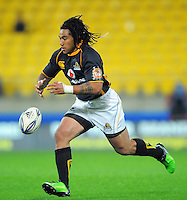 Ma'a Nonu knocks on. ITM Cup rugby union - Wellington Lions v Taranaki at Westpac Stadium, Wellington, New Zealand on Saturday, 16 October 2010. Photo: Dave Lintott / lintottphoto.co.nz