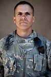 SPC Keith Hughes. Gainesville, Florida. 21. Charlie Co. 1st Battalion 12th Infantry Regiment, 4th Infantry Division. Photographed at Combat Outpost JFM in Zhari District, Kandahar, Afghanistan.