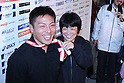 (L to R) Koji Obara, Hitomi Obara, DECEMBER 22, 2011 - Wrestling : All Japan Wrestling Championship Women's Free Style -48kg Final at 2nd Yoyogi Gymnasium, Tokyo, Japan. (Photo by YUTAKA/AFLO SPORT) [1040]