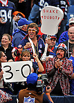 21 September 2008: Buffalo Bills fans celebrate a win against the Oakland Raiders at Ralph Wilson Stadium in Orchard Park, NY. The Bills rallied for 10 unanswered points in the 4th quarter to defeat the Raiders 24-23 marking their first 3-0 start of the season since 1992...Mandatory Photo Credit: Ed Wolfstein Photo