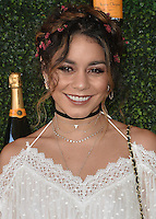 BEVERLY HILLS - OCTOBER 15:  Vanessa Hudgens at the 7th Annual Veuve Clicquot Polo Classic at Will Rogers State Historic Park on October 15, 2016 in Pacific Palisades, California. Credit: mpi991/MediaPunch