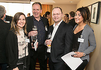 Pictured from left are Rachel O'Connor of Wise Self Wellbeing Consultancy, Paul Ritchie of Foremost Security, Terry Ellis of H22 Solutions and Hannah Floyd of Blueprint Interiors