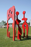 Family of Man IV sculpture in Saugatuck Michigan