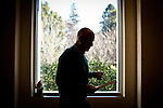 California Gov. Jerry Brown walks through his office in the State Capitol, Sacramento, Calif., December 27, 2011..