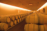 Chile Wine Country:  Barrels at Concha y Toro Winery, Vina Concha y Toro, near Santiago..Photo #: ch472-32915..Photo copyright Lee Foster, 510-549-2202, www.fostertravel.com, lee@fostertravel.com.