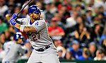 23 April 2010: Los Angeles Dodgers' center fielder Matt Kemp in action against the Washington Nationals at Nationals Park in Washington, DC. The Nationals defeated the Dodgers 5-1 in the first game of their 3-game series. Mandatory Credit: Ed Wolfstein Photo