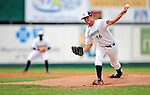 22 July 2009: Vermont Lake Monsters' pitcher Chad Jenkins on the mound against the Brooklyn Cyclones at Historic Centennial Field in Burlington, Vermont. Jenkins, the Washington Nationals' 10th draft pick in 2009,  allowed only 2 hits in four innings as the Lake Monster shut out the Cyclones 2-0. Mandatory Photo Credit: Ed Wolfstein Photo