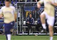 Coach Caleb Porter of the University of Akron during the 2010 College Cup semi-final against the University of Michigan at Harder Stadium, on December 10 2010, in Santa Barbara, California. Akron won 2-1.