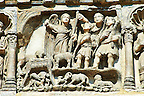 Medieval Sculptures from the facade of St Mark's Basilica, Venice