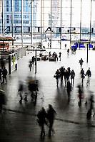 Nederland, Rotterdam, 2 feb 2014<br /> Nieuwe hal Rotterdam Centraal station.<br />  <br /> Foto(c): Michiel Wijnbergh