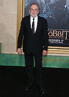 HOLLYWOOD, LOS ANGELES, CA, USA - DECEMBER 09: Joe Letteri arrives at the World Premiere Of New Line Cinema, MGM Pictures And Warner Bros. Pictures' 'The Hobbit: The Battle of the Five Armies' held at the Dolby Theatre on December 9, 2014 in Hollywood, Los Angeles, California, United States. (Photo by Xavier Collin/Celebrity Monitor)