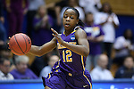 20 March 2015: Albany's Imani Tate. The Duke University Blue Devils hosted the University at Albany Great Danes at Cameron Indoor Stadium in Durham, North Carolina in a 2014-15 NCAA Division I Women's Basketball Tournament first round game.