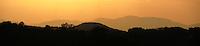 Sunset over Blue Ridge mountains in Charlottesville, VA. Photo/Andrew Shurtleff
