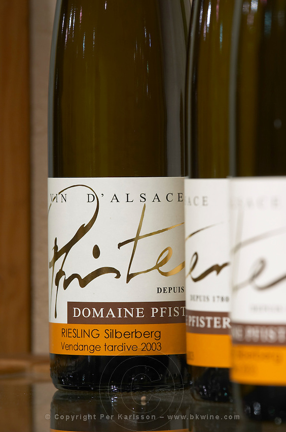 riesling silberberg vendange tardive 2003 dom pfister dahlenheim alsace france