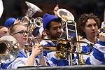 MILWAUKEE, WI - MARCH 16:  Members of the Middle Tennessee Blue Raiders band play during the 2017 NCAA Men's Basketball Tournament held at BMO Harris Bradley Center on March 16, 2017 in Milwaukee, Wisconsin. (Photo by Jamie Schwaberow/NCAA Photos via Getty Images)