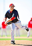 1 March 2010: Washington Nationals' starting pitcher Matt Chico on the mound during Spring Training at the Carl Barger Baseball Complex in Viera, Florida. Mandatory Credit: Ed Wolfstein Photo