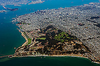 aerial photograph Presidio San Francisco, California