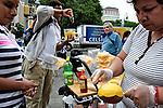 Mango stand. New York, NY