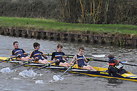 115 HCS Hereford Cathedral Sch. Wycliffe Small Boats Head 2011. Saturday 3 December 2011. c. 2500m on the Gloucester Berkeley Canal