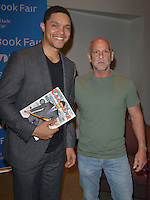 MIAMI, FL - NOVEMBER 13: Trevor Noah in conversation with Bob Weisberg about Noah book 'Born a Crime' during 33rd Annual Miami Book Fair at Miami Dade College on November 13, 2016 in Miami, Florida.  Credit: MPI10 / MediaPunch