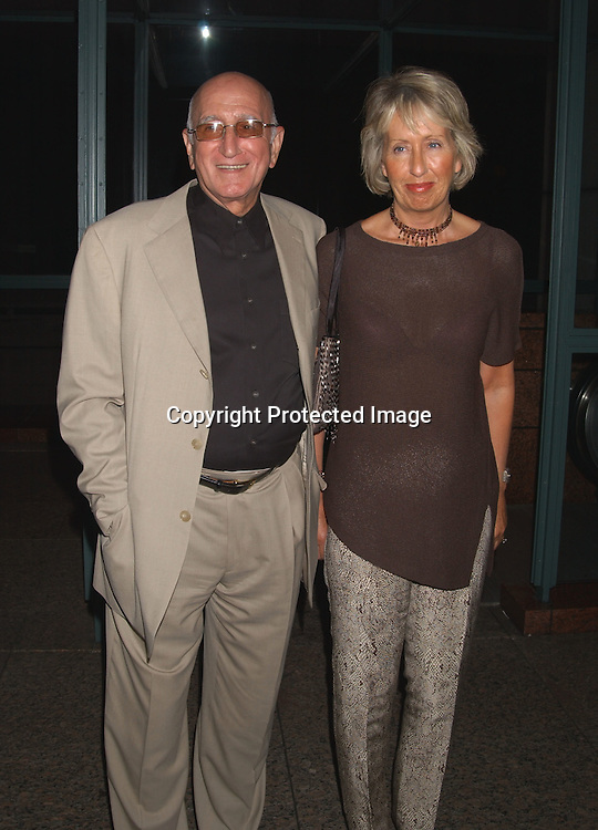 "Dominic Chianese and wife Jane                                   ..at a Screening of Alan Rudolph's ""The Secret Lives of ..Dentists on July 29,2003 at the Walter Read Theatre in..Lincoln Center. Photo by Robin Platzer, Twin Images"