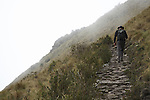 Trek along a portion of Incan trail from the remote ruins of Choquequirao through to the ruins of Machu Picchu in the district of Cusco, Peru.
