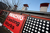The Iwachu Casting Works in Morioka city, Iwate prefecture, Japan, on Thursday 26th January 2012.