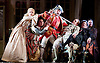 The Barber of Seville <br /> by Rossini <br /> English National Opera, London Coliseum, London, Great Britain <br /> Rehearsal <br /> 25th September 2015 <br /> <br /> Matthew Durkan as Fiorello <br /> <br /> Eleazar Rodriguez as Count Almaviva <br /> <br /> Morgan Pearce as Figaro <br /> <br /> Kathryn Rudge as Rosina <br /> <br /> Andrew Shore as Doctor Bartolo <br /> <br /> Barnaby Rea as Don Basilio <br /> <br /> Katherine Broderick as Berta <br /> <br /> Geraint Hylton as Ambragio <br /> <br /> Roger Begley as an official <br /> <br /> Allen Adams as a Notary <br /> <br /> <br /> Photograph by Elliott Franks <br /> Image licensed to Elliott Franks Photography Services