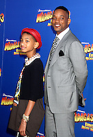 Willow Smith and Will Smith at the NY premiere of Madagascar 3: Europe's Most Wanted at the Ziegfeld Theatre in New York City. June 7, 2012. © RW/MediaPunch Inc.