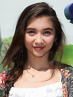 "WESTWOOD, LOS ANGELES, CA, USA - MAY 03: Rowan Blanchard at the Los Angeles Premiere Of ""Legends Of Oz: Dorthy's Return"" held at the Regency Village Theatre on May 3, 2014 in Westwood, Los Angeles, California, United States. (Photo by Celebrity Monitor)"