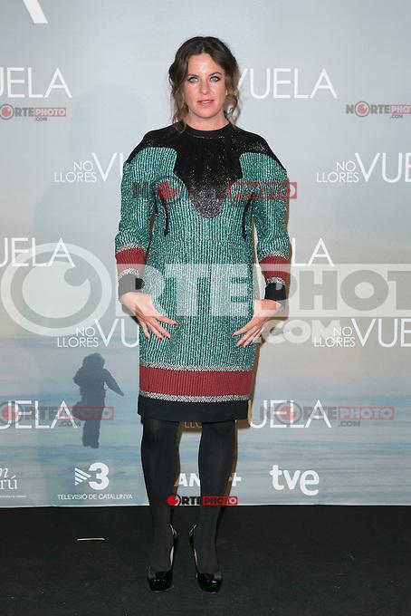 Claudia Llosa attends Claudia&acute;s Llosa &quot;No Llores Vuela&quot; movie premiere at Callao Cinema, Madrid,  Spain. January 21, 2015.(ALTERPHOTOS/)Carlos Dafonte) /NortePhoto<br /> NortePhoto.com