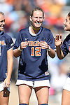20 October 2013: Virginia's Shasta Fisher. The University of North Carolina Tar Heels hosted the University of Virginia Cavaliers at Fetzer Field in Chapel Hill, NC in a 2013 NCAA Division I Women's Soccer match. Virginia won the game 2-0.