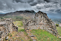 Storm approaching Lezhe Castle, Albania  From 1400's, Adriatic Sea