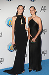 Models Mina Cvetkovic  and Anna Ewers Attend the Unitas Gala <br /> Against Sex Trafficking Held at Capitale
