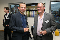 Andy Foxley (left) of Handelsbanken and John Murphy from Sterling Capital Reserve