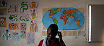 A student at the Art Creation Foundation for Children in Jacmel. The 7.0 earthquake that devastated parts of Haiti on January 12 killed hundreds of thousands of people. January's earthquake killed hundreds of thousands of people and caused significant and lasting structural and economic damage in the Caribbean nation.