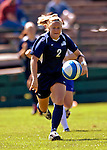 2 September 2007: University of New Hampshire Wildcats' Julie O'Shaughnessy, a Junior from Manchester, NH, in action against the University of Central Arkansas Sugar Bears at Historic Centennial Field in Burlington, Vermont. The Wilcats shut out the Sugar Bears 3-0 during the TD Banknorth Soccer Classic...Mandatory Photo Credit: Ed Wolfstein Photo