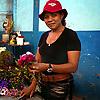 Cuba Trip  Flower vendor, Havana Erik Kellar