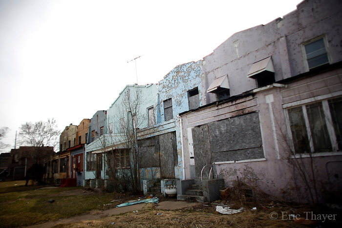 Abandoned homes are seen in gary indiana eric thayer House builders in indiana