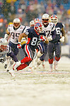 Buffalo Bills wide receiver Josh Reed (82) gains 51 yards and a fourth quarter pass-rush touchdown against the visiting New England Patriots at Ralph Wilson Stadium in Orchard Park, NY, on December 11, 2005 . The Patriots defeated the Bills 35-7. Mandatory Photo Credit: Ed Wolfstein
