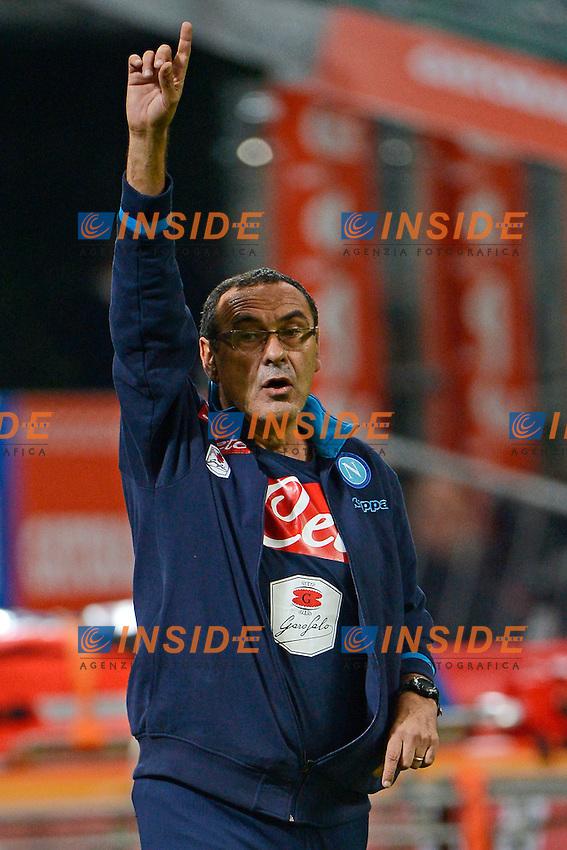 Maurizio Sarri Napoli<br /> Milano 4-10-2015 Stadio Giuseppe Meazza - Football Calcio Serie A Milan - Napoli. Foto Giuseppe Celeste / Insidefoto