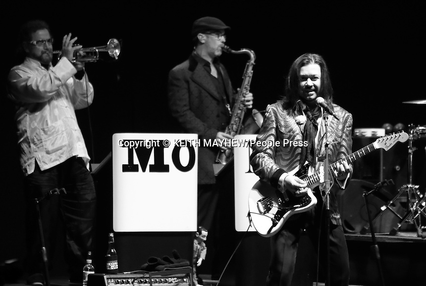 The Mavericks play a gig at the Eventim Apollo, Hammersmith, London on March 4th 2015 <br /> <br /> Photo by Keith Mayhew