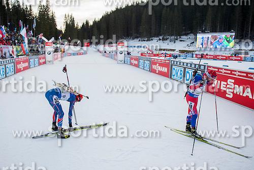Finish during Men 10 km Sprint at day 1 of IBU Biathlon World Cup 2015/16 Pokljuka, on December 17, 2015 in Rudno polje, Pokljuka, Slovenia. Photo by Urban Urbanc / Sportida