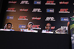 August 25, 2011; Rio De Janiero, Brazil; UFC 134 Final Press conference at the Copacabana Palace in Rio.
