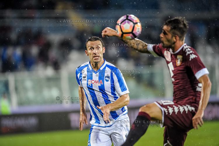 Hugo Campagnaro (Pescara) during the Italian Serie A football match Pescara vs Torino on September 21, 2016, in Pescara, Italy. Photo di Adamo Di Loreto/BuenaVista*photo