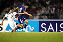 (R-L) Shinji Kagawa (JPN), Islom Tuhtahujaev (UZB),SEPTEMBER 6, 2011 - Football / Soccer :2014 FIFA World Cup Asian Qualifiers Third round Group C match between Uzbekistan 1-1 Japan at Pakhtakor Markaziy Stadium in Tashkent, Uzbekistan. (Photo by AFLO)